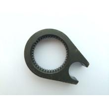 Peças fazendo à máquina de aço personalizadas para o automóvel com giro (DR249)