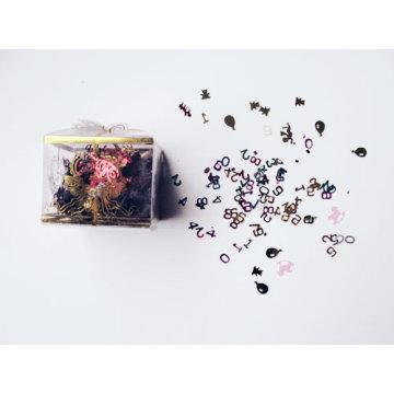 Confetti de glitter dia crianças