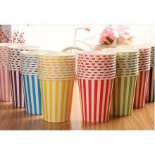 Eventos coloridos de la boda del partido del papel DIY que beben las tazas de la vajilla