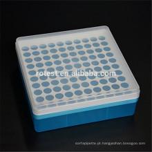 Caixa de tubo de plástico 1.5ml micro centrífuga