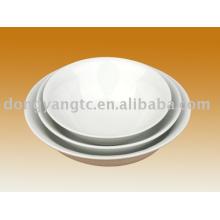 Tigelas de salada de cerâmica