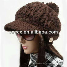 13ST1045 neuesten Design stricken Damenmode Hüte