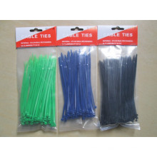Selbstsichernde Nylon Kabelbinder