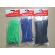 Ataduras de cables de nylon autoblocantes