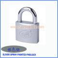 Top Quality Sliver Spray pintado de ferro cadeado com chaves normais