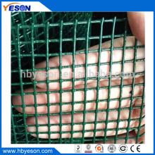 Turquía 25m de calidad superior de pvc recubrimiento cuadrado tejido de malla de alambre de tela de hardware
