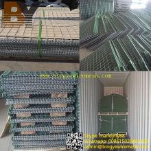 Barreiras defensivas da proteção da inundação da barreira de Hesco