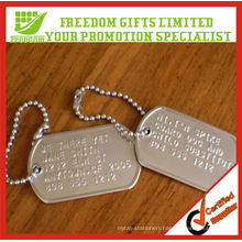 Fashional Men's Stainless Steel Dog Tag On Chain