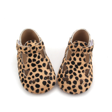 Zapatillas informales Mo Baby Leopard Soft Leather Baby