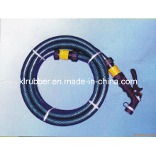 PVC Fiber Reinforced Garden Hose with Water Spray Gun