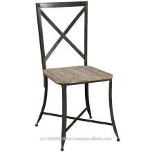 Chaise de siège en bois vintage