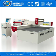 China agua de chorro de baldosas de cerámica precio máquina de corte