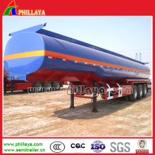 3axle 50cbm 40tons Acid Chemical Liquid Tank Semi Trailer