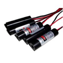 Red cross line laser module