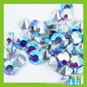 Machine cut crystal stone glass chaton rhinestone