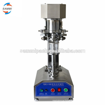 Stainless Steel TDFJ-160 beer can Sealing machine,tin can seamer