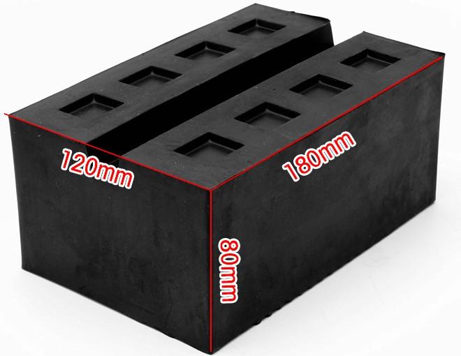 rubber block C