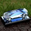 decoração ou presentes lembranças moda cristal modelo de carro de vidro