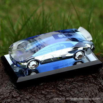 decoración o regalos Souvenirs Fashion Crystal Glass Car Model