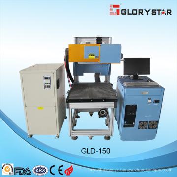 Jeans Máquina de marcação a laser Rofin Tubo de CO2 Área de trabalho 800X800mm 275W