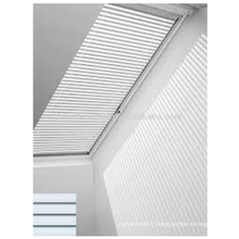 pleated style skylight roller blind
