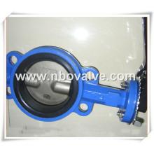 Tipo de Engrenagem Válvula Borboleta de Alta Temperatura 904L (D71H)
