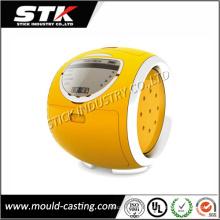 Pièces en plastique de Shell de couverture d'horloge de moulage par injection de conception faite sur commande
