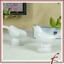 Salero y pimienta de forma de pájaro de cerámica