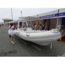 Certifié CE RIB bateau rib520