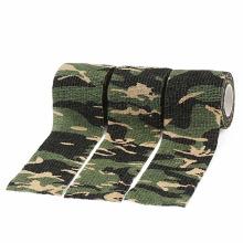 Fita adesiva de camuflagem de pano Camo forte profissional impresso duto personalizado ao ar livre borracha de caça à prova d'água Aviso de derretimento quente