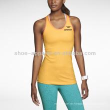 Laufendes Trägershirt der kundenspezifischen Frauen 2014, Gymnastik-Trägershirt