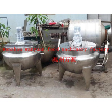 300 Liters Fixed Type Steam Heating Jacketed Kettle