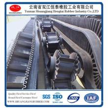 90° Angle Sidewall Rubber Conveyor Belt