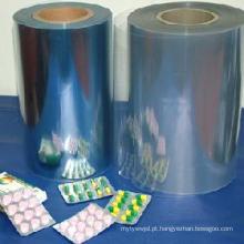 Filme de PVC transparente rígido de grau farmacêutico