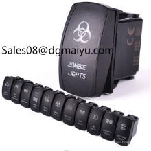 Camper und Schiff Umrüstung Schalter / Nebelscheinwerfer der Scheinwerfer Conversion Switch / Boot Shaped Switch Doppel-Lampe Wippschalter