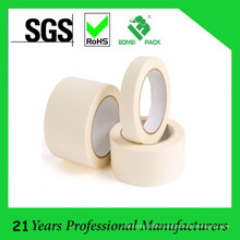 Beige Crepe Paper Masking Tape with 24mm X 54.8m