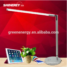 super lumineux dimmable pliage 5W 7w haute puissance interrupteur tactile LED lampe de table