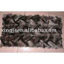 Silver Blue Fox Scrap Plate