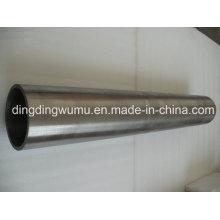 Tubo de tungsteno puro de alta densidad para saliendo a borbotones la capa destino