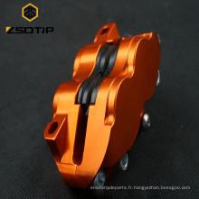 SCL-2014090042 BWS / RSZ / GTR moto Etrier de frein avant 80mm Etrier de frein