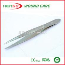 Pinzas de acero quirúrgico HENSO