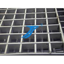 Edelstahl Treppenstufen oder Plattformgitter