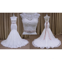 Brand Empire Wedding Dresses Pink Sash