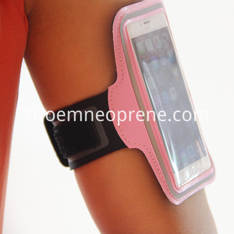 pink fitness armbands