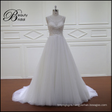 Exquisite Beading A-Line Bridal Dress