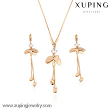 63422-Xuping Stylish Gold Jewelry Set,Fashion Jewelry jewelry set