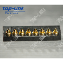 8p High Quality Pogo Pin Connector, Fine Pitch, Low Profile