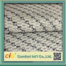 2015 Jacquard et imprimé tissu de siège de voiture / tissu d'impression tricoté