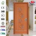 Waterproof PVC Membrane Toilet Specifications Frame Interior Door