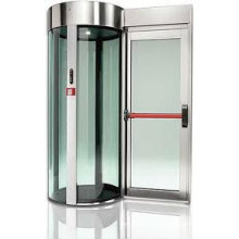 automatic ATM door(security cabin)
